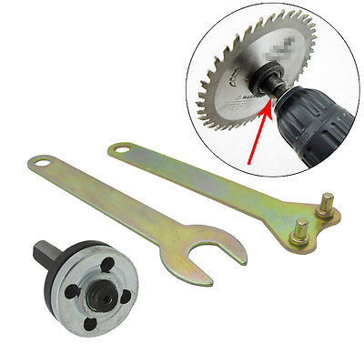5pcs 10MM Electric Connecting Rod Drill Angle Mill Handle Grinder Wheels Disc