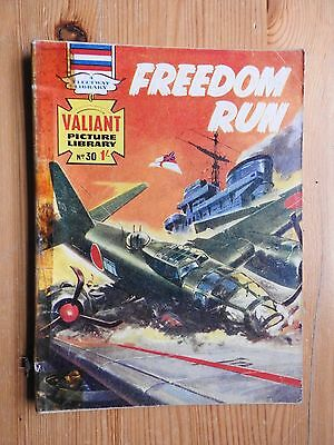 Valiant Picture Library #30 - Freedom Run  Fleetway
