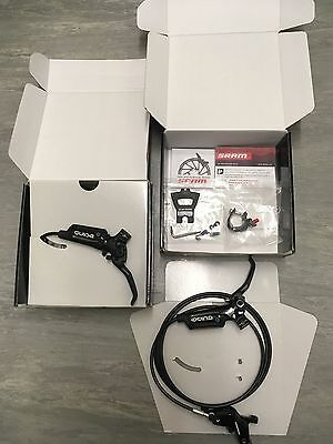 New SRAM Guide R hydraulic brakes with S4 callipers front and rear