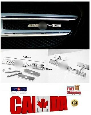 3D Metal Emblem Badge Front Hood Grille for AMG CLK SLK SL ML Car Decoration