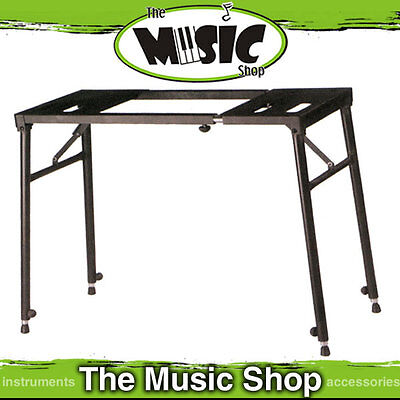 Xtreme DJ,  Turntable & Mixer or Keyboard Bench Type Stand - Height Adjustable