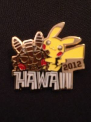 Pokemon World Championships Hawaii 2012 collectors metal enamel official pin (G5