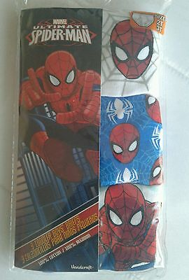 3pk brief for toddler Boys Marvel Ultimate Spider-Man cotton size 2t/3t