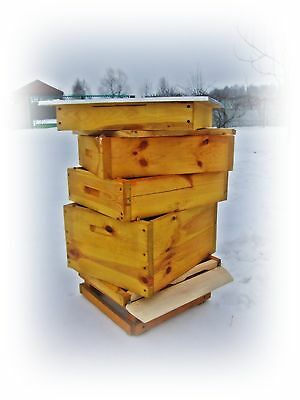 Brand New National Bee Hive Bee keeping 2 x super box 1 x road Express delivery.