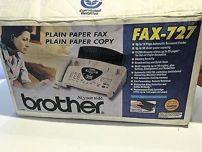 Brother 727 Fax Machine