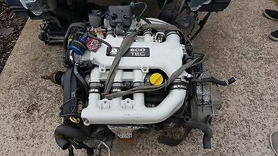 vauxhall vectra B 2.5 v6 engine gearbox and full loom + Ecu