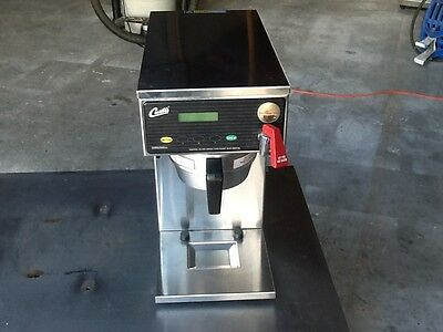 Curtis D60Gt12A Coffee Brewer, Low Profile Carafe Brewer, Used