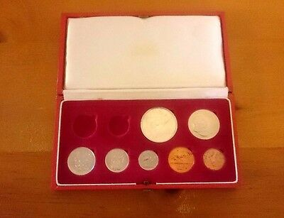1967 South Africa Coin Set Silver 1 Rand Missing Gold 1 And 2 Rand