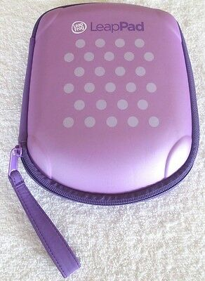 Leap Frog LeapPad Explorer 32650 Protective Carrying Case Purple Pink Polka Dot