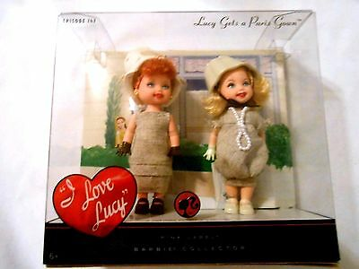 I Love Lucy Barbie Dolls Lucy Gets A Paris Gown Episode 147 New