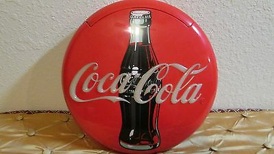 Vintage 1995 COCA-COLA Disc Phone Wall Mount GREAT CONDITION!