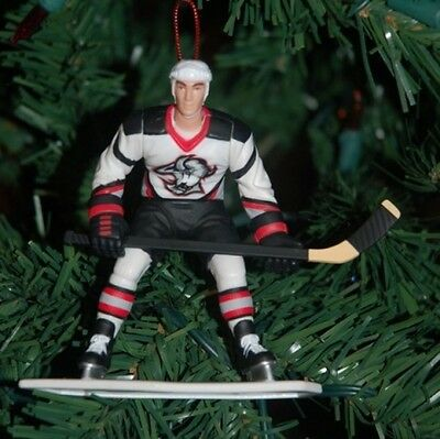 Miroslav Satan Buffalo Sabres Black Jersey Christmas Tree Ornament NHL Hockey