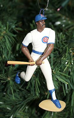 Andre Dawson Chicago Cubs White Jersey MLB Baseball Christmas Tree Ornament
