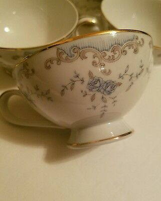 Imperial China W Dalton 5303 Seville Footed Tea Cups (10) Coffee Cups