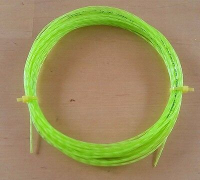 Tennis string - Wilson Synthetic Gut Power 1.30mm / 16L - LIME GREEN