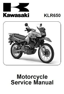 Kawasaki KLR 650 Service Repair Maintenance Workshop Manual 2008-2016 [**PDF**]