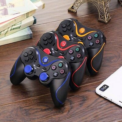 Bluetooth Game Controller Wireless Vibration Handles Game Controller For PS3 Qwe