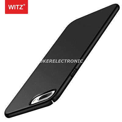 Black Luxury Shockproof Ultra Thin PC Hard Back Case Cover For iPhone 6/6S S002