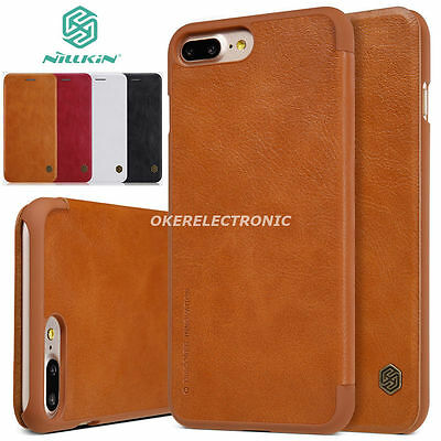 Brown Luxury Ultra thin Leather Wallet Card Case Flip Cover For iPhone 7 S002