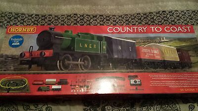 Hornby train set Country to coast exclusive to asda 00 gauge