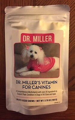 Dr. Millers Vitamin for Canines - YouTHIN - FREE S/H WOW!