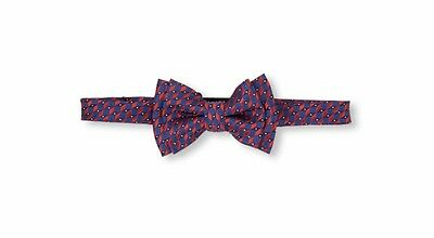 Children's Place Nwt Boys' Printed Bow Tie Red And Blue 24M-4T Ld 3