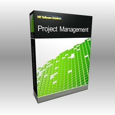 Project Management MS 2010 2013 Compatible App NEW Software