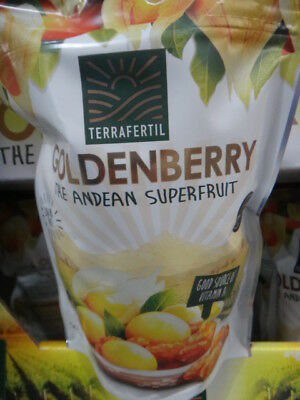 NEW Terrafertil Dried Goldenberries 567G from Fairdinks