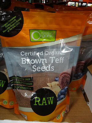 NEW Absolute Organic Teff Seeds 850G from Fairdinks