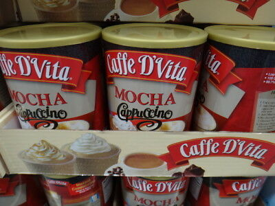 NEW Cafee D'Vita Mocha Capuccino 1.36KG from Fairdinks