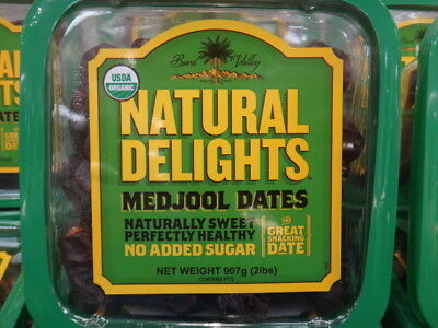 NEW Organic Medjool Dates 907G Product of USA from Fairdinks