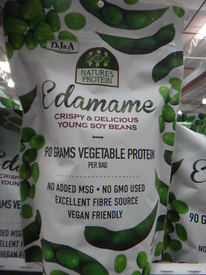 NEW DJ&A Edamame Protein Snack 285G from Fairdinks