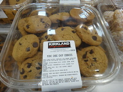 NEW Mini Choc Chip Cookies 45 Pack 1KG from Fairdinks
