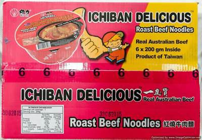 NEW Ichiban Noodles Roast Beef Sauce 6 x 200g from Fairdinks