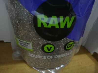NEW Absolute Organic Natural Chia Seed 1.5KG from Fairdinks