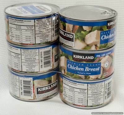 NEW Kirkland Signature Premium Chicken 6 x 354G from Fairdinks