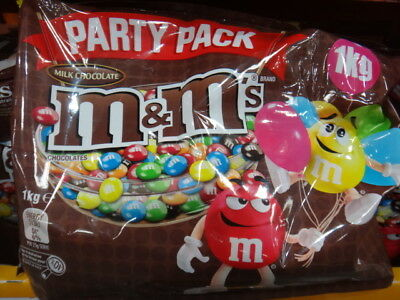 NEW M&M's Milk Chocolate Party Pack 1KG from Fairdinks