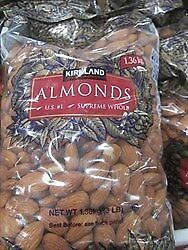 NEW Kirkland Signature Non Pareil Whole Almonds 1.36KG from Fairdinks