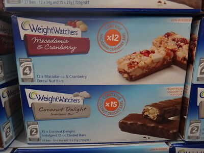 NEW Weight Watchers Bars Variety 27 Pack 723G from Fairdinks