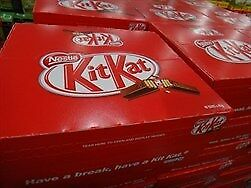 NEW Nestle KitKat 4 Fingers 48 x 45G from Fairdinks