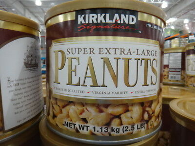 NEW Kirkland Signature Super Extra Large Peanuts 1.13KG from Fairdinks