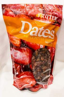 NEW Frutex Whole Pitted Dates 1.5Kg from Fairdinks