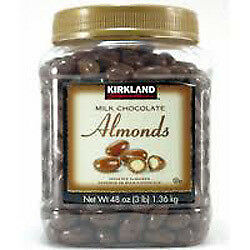 NEW Kirkland Signature Milk Chocolate Almonds 1.36KG from Fairdinks