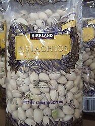 NEW Kirkland Signature California Pistachios 1.36KG from Fairdinks