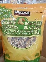 NEW Kirkland Signature Cashew Clusters 907G from Fairdinks