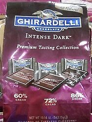NEW Ghirardelli Intense Dark Tasting Collection 543G from Fairdinks