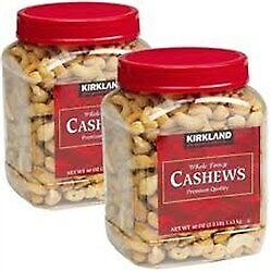 NEW Kirkland Signature Whole Fancy Cashews 1.13Kg from Fairdinks