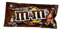 NEW M & M's Milk Chocolate Bag 12 x 49g from Fairdinks