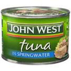 NEW John West Tuna in Springwater 6  x 425G from Fairdinks