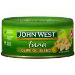 NEW John West Tuna in Olive Oil 12 x 185G from Fairdinks